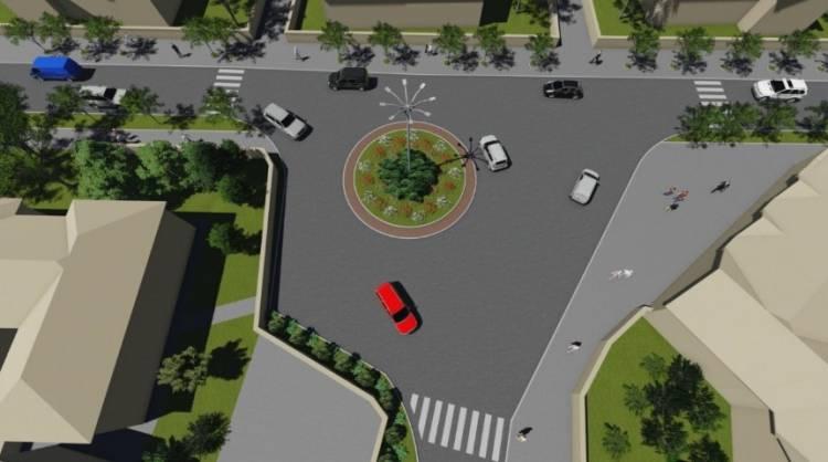 Un sens giratoriu va fi amenajat la Stăuceni. Schița de proiect a fost deja elaborată