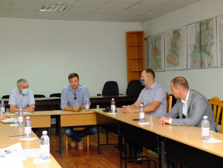 Ședință cu privire la organizarea concursului de soluții arhitecturale pentru Parcul Unirii