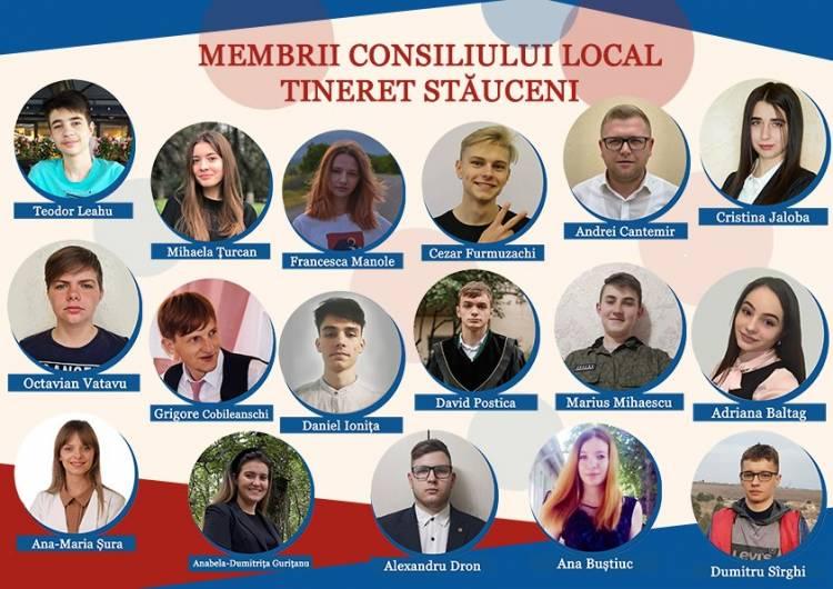 Au fost desemnați membrii Consiliului Local de Tineret Stăuceni