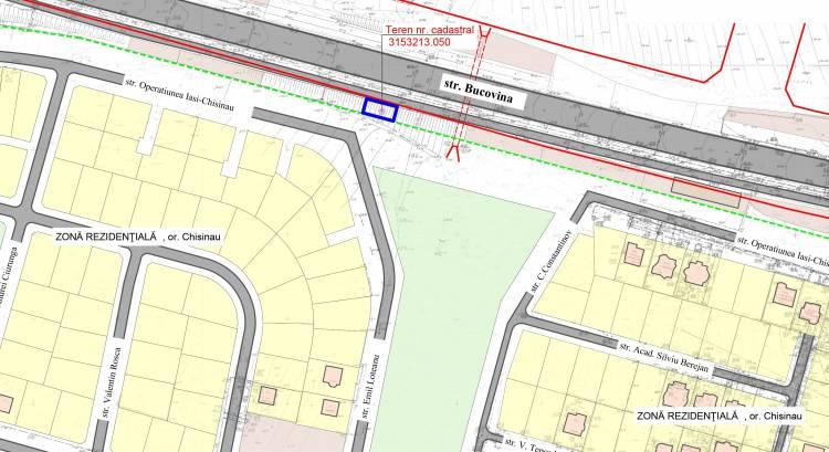 Ponsultarea publică a PUD-ului privind valorificarea unui teren din str. Bucovina.