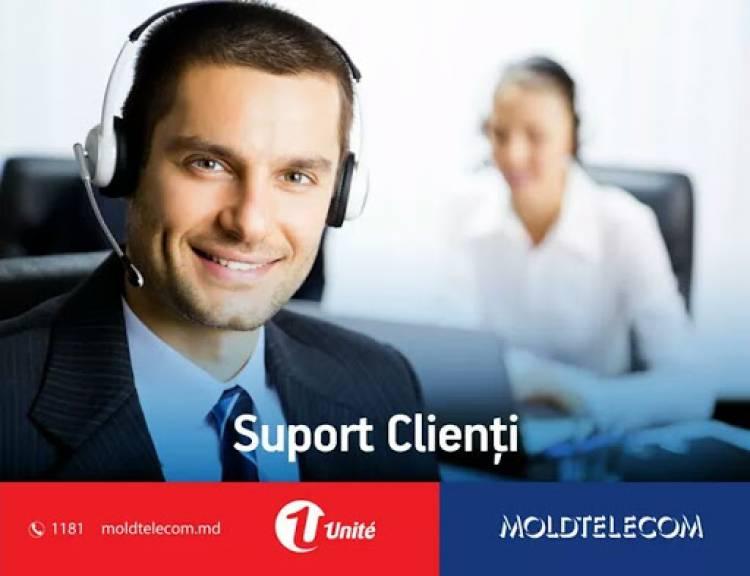 """Lucrări în rețeaua de telecomunicații S.A. """"Moldtelecom"""""""