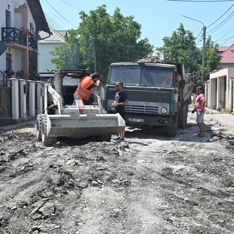 Inspectarea șantierului Botoșani – Salcâmilor - Stamati